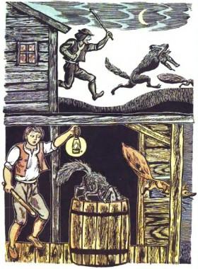 Вовк і лисиця (німецька казка)