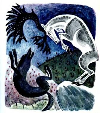 Вовк і олень (чукотська казка)