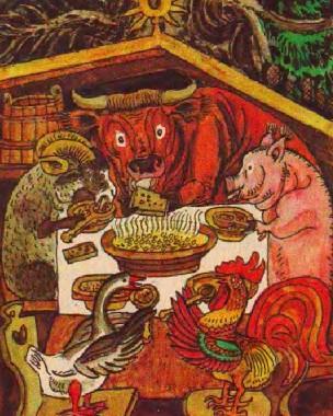 Волова хатка (литовська казка)