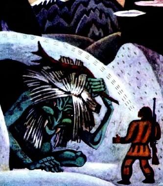 Всемогутня Катгиргин (чукотська казка)