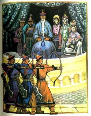 Гар'юлай-мерген та його відважна сестра Агу-ногон-абаха (бурятська казка)