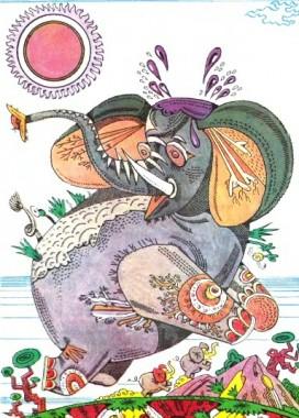 Голова велика – та нерозумна, а мала – та кмітлива (в'єтнамська казка)