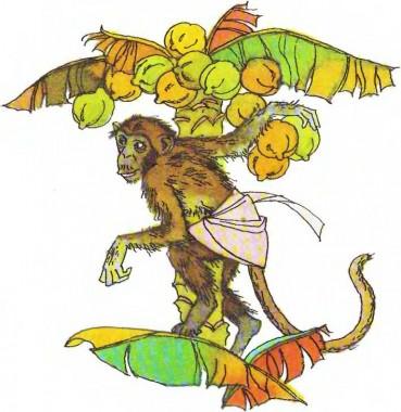 Горила, пантера і шимпанзе (африканська казка)