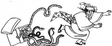 Горобчик Одрізаний Язичок (японська казка)