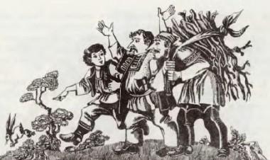 Готували рожен на зайця (сербська казка)