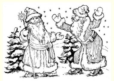 Два Морози (російська казка)
