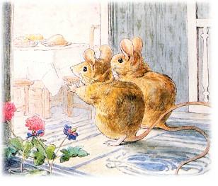 Дві миші (бурятська казка)