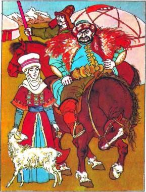 Джееренче-чечен (киргизька казка)