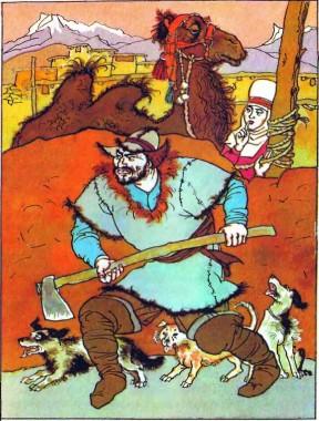 Джигіт-умілець (киргизька казка)