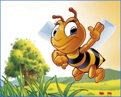 Джміль і бджола (українська народна казка)
