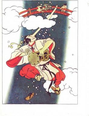 Дивовижний барабан (японська казка)