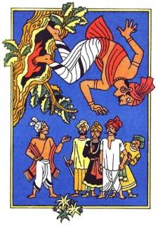 Добродум і Злодум (індійська казка)