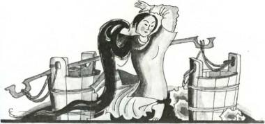 Довговолоса Сестричка (китайська казка)