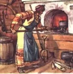 Донька пекаря (англійська казка)