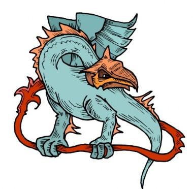Дракон з Чортової скелі (українська народна казка)