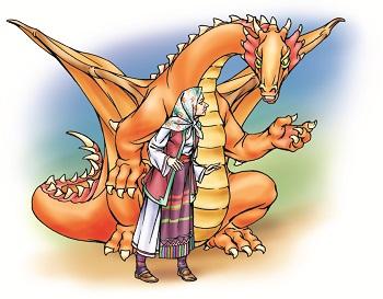 Дракон і царевич (сербська казка)