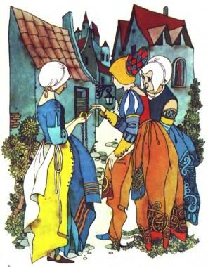 Дроворубова донька (французька казка)