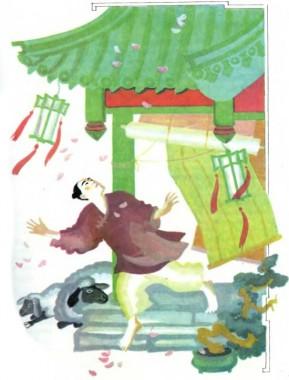 Дівчина-півонія (китайська казка)