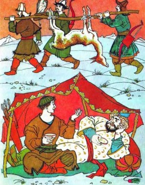 Діти хана Айдаркана (киргизька казка)