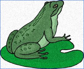 Жаба боязкіша від зайця (українська народна казка)