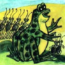 Жаба та мурахи (алтайська казка)