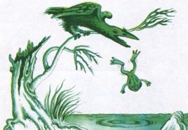 Жаба і ворона (фінська казка)