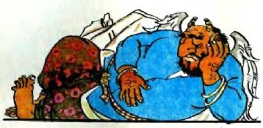 Завзята Гулсанам (таджицька казка)