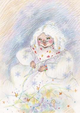 Зажурилася бабуся Зима (Ірина Мацко)