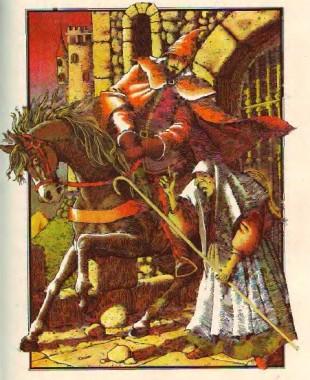 Замок «Підеш-не вернешся» (іспанська казка)