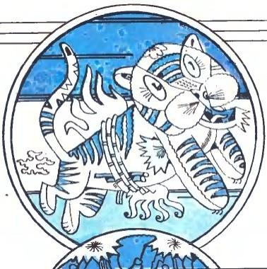 Заєць, курка й тигр (в'єтнамська казка)