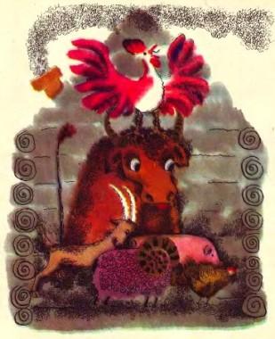 Зимівник тварин (естонська казка)