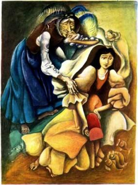 Золоте дівча (болгарська казка)