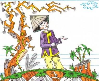 Золотий скарб сонця (в'єтнамська казка)