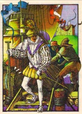Золотий, срібний та шовковий кораблі (іспанська казка)