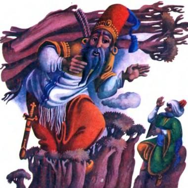 Казка про дужого чоловіка (турецька казка)