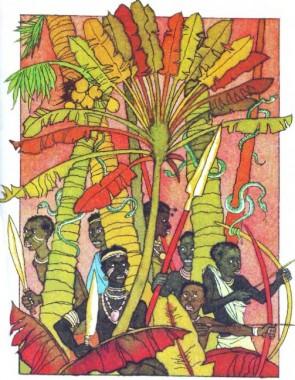 Казка про діаманти (африканська казка)