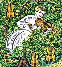 Казка про чарівну скрипку (Тетяна Гаркуша)