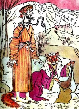 Кара за лиходійство (таджицька казка)