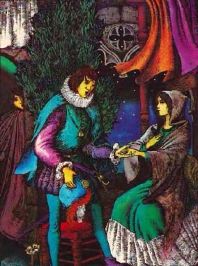 Квітка лаванди (іспанська казка)