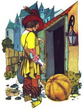 Кобиляче яйце (французька казка)