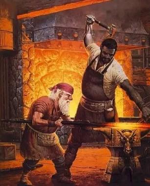Кузнец и черт (украинская сказка)