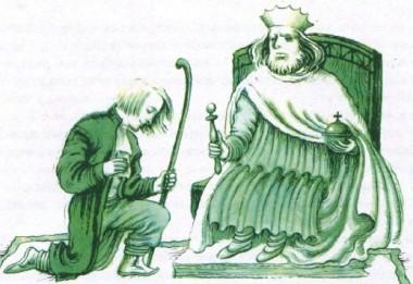 Король, пастор і мірошник (фінська казка)