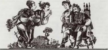 Король і три його сини (словенська казка)