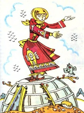 Красуня Кункей (казахська казка)