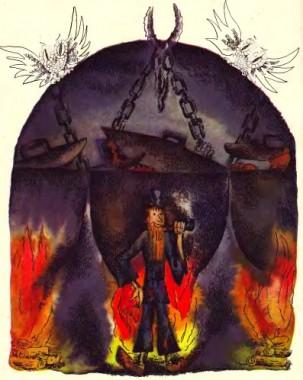 Кріпак – кочегар у пеклі (естонська казка)