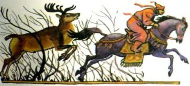 Кінь та ізюбр (бурятська казка)