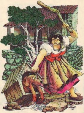 Кіт – розбишака (іспанська казка)