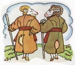 Кіт, цап і баран (українська народна казка)