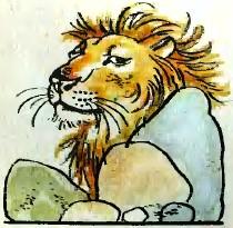 Лев та мудра кішка (таджицька казка)