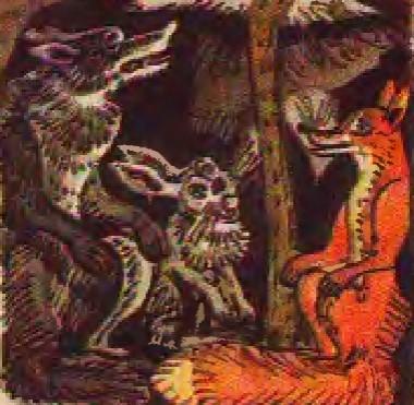 Лисиця, вовк і заєць (литовська казка)